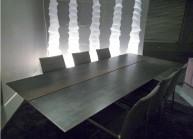 Table de repas acier - Triss